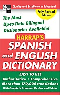 Harrap's Spanish and English Dictionary Hardcover Ed.