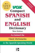 Vox Compact Spanish & English Dictionary (Vox Dictionary)