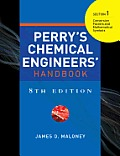 Perrys Chemical Engineers Handbook 8/e Section 1 Conv Factors&math Symb