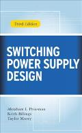 Switching Power Supply Design, 3rd Ed