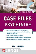 Case Files Psychiatry, Third Edition (Lange Case Files) Cover