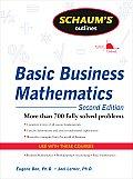 Schaum's Outline of Basic Business Mathematics