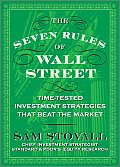 Seven Rules of Wall Street Crash Tested Investment Strategies That Beat the Market