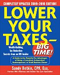 Lower Your Taxes - Big Time! 2009-2010 Edition (Lower Your Taxes Big Time) Cover