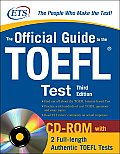 Official Guide To The Toefl Test 3rd Edition