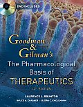 Goodman and Pharm. Basis of Therapeutics - With DVD (12TH 11 Edition)
