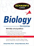 Schaum's Outline of Biology (Schaum's Outlines)