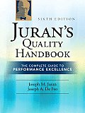 Juran's Quality Handbook : Complete Guide To Performance Excellence (6TH 11 Edition)