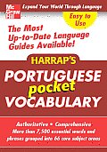 Harrap's Portuguese Pocket Vocabulary (Harrap's Language Guides)