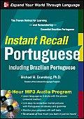 Instant Recall Portuguese Including Brazilian Portuguese 6 Hour MP3 Audio Program