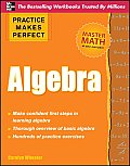 Practice Makes Perfect Algebra (Practice Makes Perfect) Cover