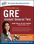 The Official Guide to the GRE Revised General Test [With CDROM] (GRE: The Official Guide to the General Test) Cover