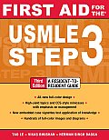 First Aid for the USMLE Step 3, Third Edition (First Aid for the USMLE Step 3) Cover