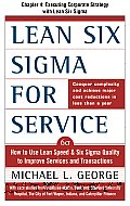 Lean Six Sigma for Service, Chapter 4 - Executing Corporate Strategy with Lean Six Sigma Cover