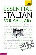 Essential Italian Vocabulary A Teach Yourself Guide
