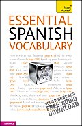Essential Spanish Vocabulary (Teach Yourself: Reference) Cover