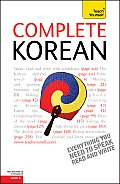 Complete Korean (Teach Yourself: Level 4)