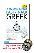 Fast-Track Greek with Two Audio CDs: A Teach Yourself Guide (Fast Tracks) Cover
