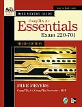 Mike Meyers'comptia a and Guide : Essentials - With CD (3RD 10 Edition) Cover