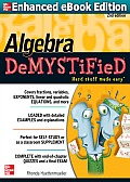 Algebra Demystified A Self Teaching Guide 2nd Edition