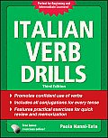 Italian Verb Drills, Third Edition (Drills) Cover