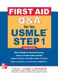 First Aid q&a for the USMLE Step 1, Third Edition Cover