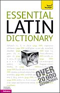 Essential Latin Dictionary A Teach Yourself Guide 3rd Edition