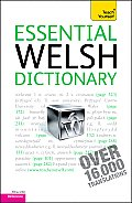 Essential Welsh Dictionary: A Teach Yourself Guide (Essential)