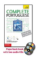 Complete Portuguese with Two Audio CDs: A Teach Yourself Guide (Teach Yourself Language) Cover