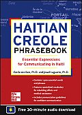 Haitian Creole Phrasebook: Essential Expressions for Communicating in Haiti Cover