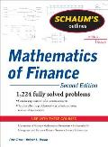 Schaums Outline of Mathematics of Finance 2nd Edition Revised