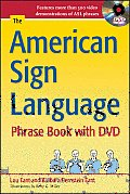 The American Sign Language Phrase Book with DVD Cover