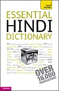 Essential Hindi Dictionary: A Teach Yourself Guide (Teach Yourself)