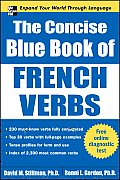 The Concise Blue Book of French Verbs (Big Book) Cover