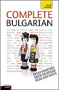 Complete Bulgarian A Teach Yourself Guide