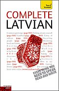 Complete Latvian: A Teach Yourself Guide (Teach Yourself Language) Cover
