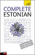 Complete Estonian: A Teach Yourself Guide (Teach Yourself Language) Cover