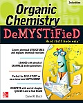 Organic Chemistry Demystified 2/E (Demystified) Cover