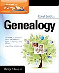 How To Do Everything With Your Genealogy (3RD 12 - Old Edition)