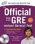 GRE the Official Guide to the Revised General Test , Second Edition [With CDROM] (GRE: The Official Guide to the General Test) Cover