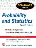 Schaum's Outline of Probability and Statistics, 4th Edition (Schaum's Outlines) Cover