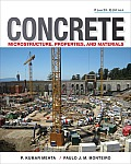 Concrete Microstructure Properties and Materials (4TH 14 Edition)