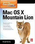 How to Do Everything Mac, OS X Mountain Lion
