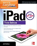 How to Do Everything: Ipad, 3rd Edition: Covers 3rd Gen Ipad (How to Do Everything)