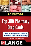 2014-2015 Top 300 Pharmacy Drug Cards (Lange)