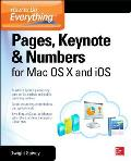 How to Do Everything: Pages, Keynote & Numbers for OS X and IOS (How to Do Everything)