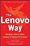 The Lenovo Way: Managing a Diverse Global Company for Optimal Performance