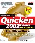 Quicken 2002 Deluxe for Macintosh: The Official Guide (Official Guides)