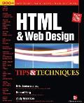 HTML &amp; Web Design Tips &amp; Techniques (Tips &amp; Techniques) Cover