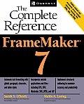 FrameMaker 7 The Complete Reference